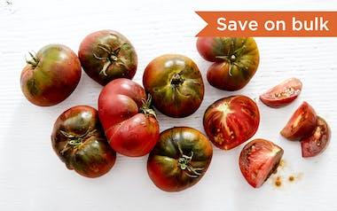 Bulk Organic Purple Cherokee Heirloom Tomatoes