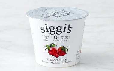 Nonfat Strawberry Icelandic Yogurt