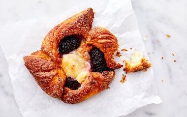 Blackberry Cream Cheese Danish