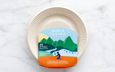 """6"""" Compostable Plates"""