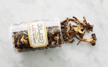 Dried Wild Black Trumpet Mushrooms