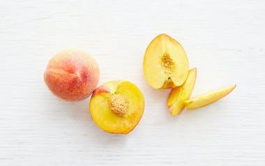 Large Sierra Rich Yellow Peach Duo