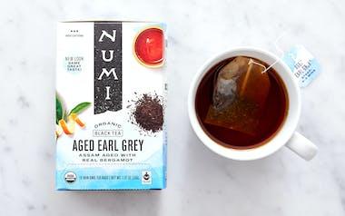 Organic Aged Earl Grey Tea Bags