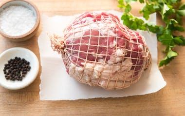 Grass-Fed Boneless Lamb Leg Roast (Frozen)