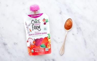 Organic Veggie Baby Food (7+ mos)