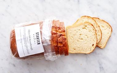 Olive Oil Sourdough Loaf