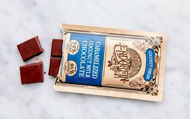 Caramelized Coconut Chocolate Bar