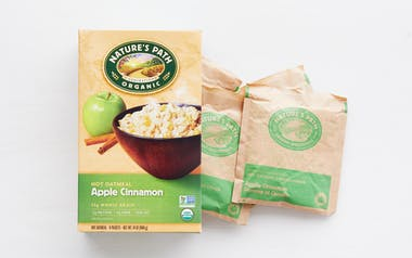 Organic Apple Cinnamon Instant Oatmeal