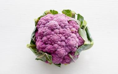 Organic Baby Purple Cauliflower
