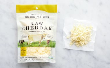 Raw Shredded Cheddar