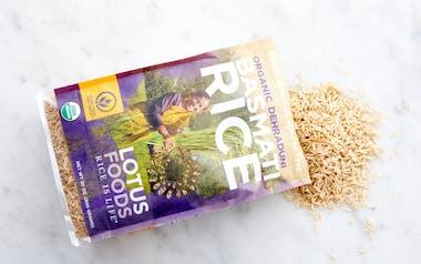Organic Brown Heirloom Basmati Rice