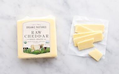 Raw Cheddar Cheese