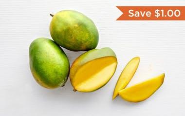 Organic Large California Keitt Mango Trio