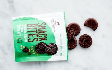 Organic Dark Chocolate & Crunchy Quinoa Snack Bites
