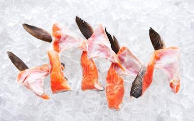 Wild Alaskan Salmon Collars (Frozen)