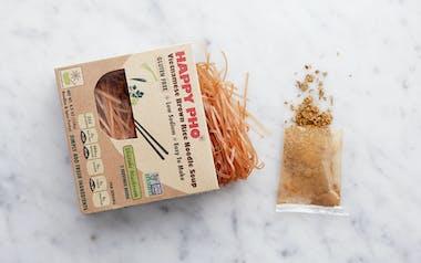 Vietnamese Shiitake Mushroom Pho with Brown Rice Noodles