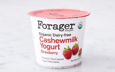 Organic Strawberry Cashew Yogurt