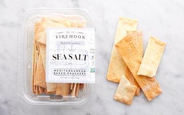 Sea Salt Baked Crackers