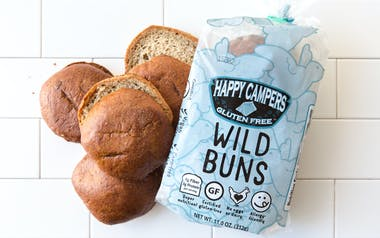 Gluten-Free Organic Burger Buns