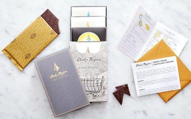 Single Origin Chocolate Tasting Flight