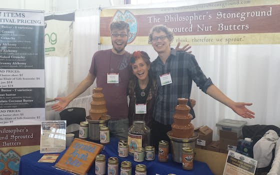 The Philosopher's Stoneground craft nut butters