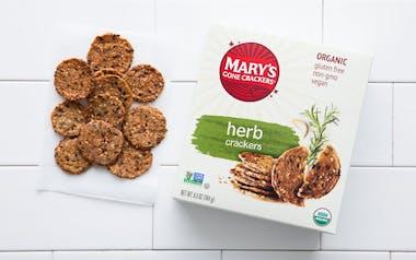 Organic Gluten-Free Herb Crackers