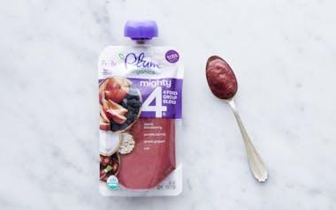 Organic Blackberry, Carrot, Oat & Yogurt Blend