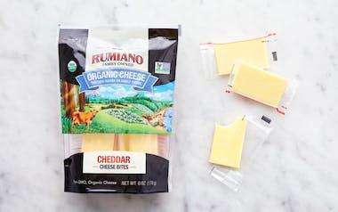 Organic Cheddar Cheese Bites
