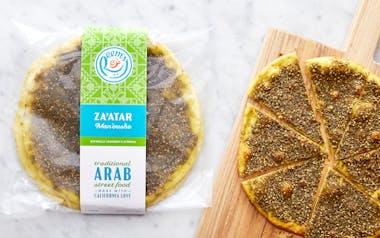 Par-Baked Za'atar Man'oushe (Flatbread)