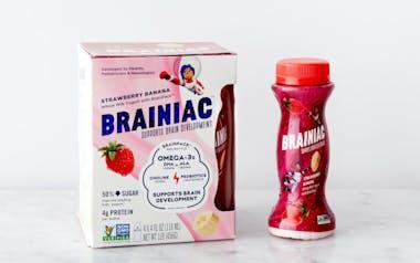 Strawberry Banana Drinkable Yogurt with Brainpack™