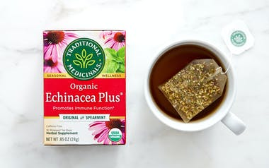Organic Echinacea Plus Tea Bags