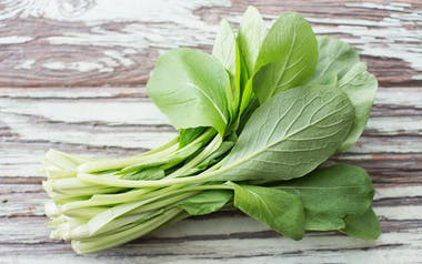 Organic Komatsuna Greens