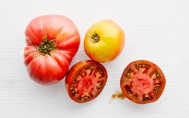 Organic Mixed Heirloom Tomatoes