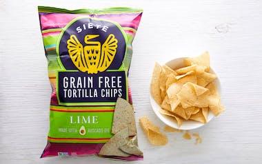 Grain-Free Lime Tortilla Chips