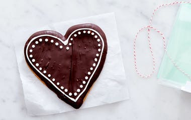 Chocolate Covered Spiced Honey Heart