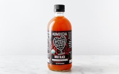 Organic Rose Black Kombucha
