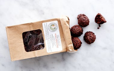 Vegan Dark Chocolate Macaroons