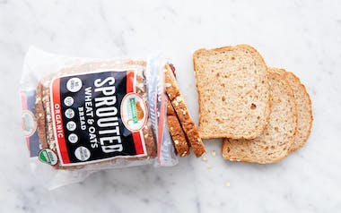 Organic Sprouted Wheat & Oats Bread