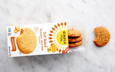 Soft Baked Peanut Butter Cookies