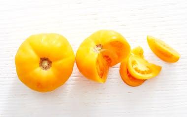 Organic Amana Orange Heirloom Tomatoes
