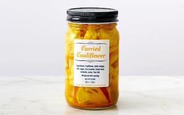 Pickled Curried Cauliflower