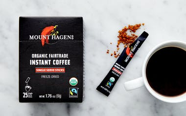 Organic Fair Trade Instant Coffee Packets
