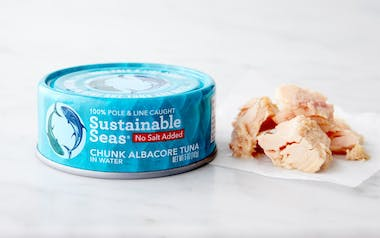 No-Salt Added Chunk Albacore Tuna in Water