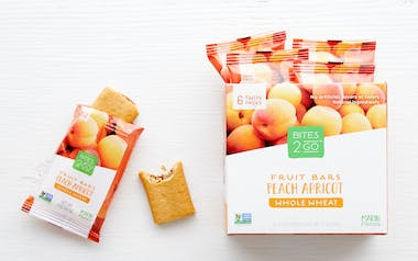 Whole Wheat Peach Apricot Bars