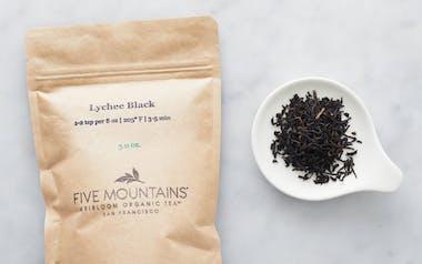 Organic Lychee Black Loose Tea