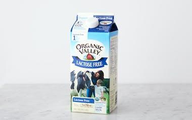 Lactose-Free Organic 1% Lowfat Milk