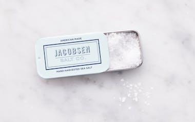 Slide Tin of Pure Flake Finishing Salt
