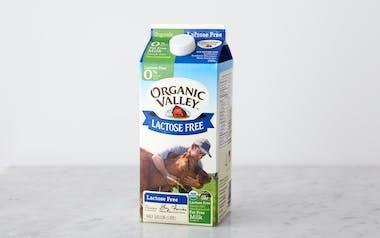 Lactose-Free Organic Fat Free Milk