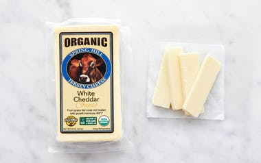 Organic Sharp White Cheddar