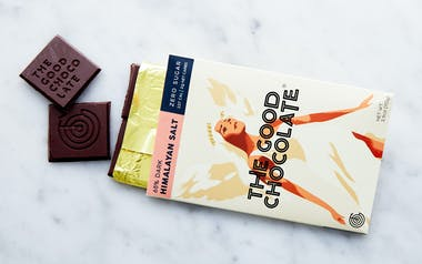 Zero Sugar 65% Dark Chocolate Himalayan Sea Salt Bar
